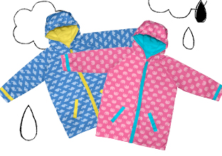 i play. Kids' Rain Gear