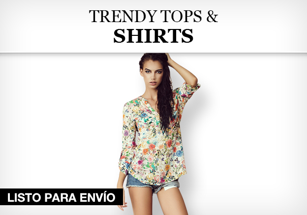 Trendy Tops & Shirts