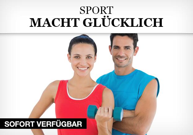 Sport macht glücklich