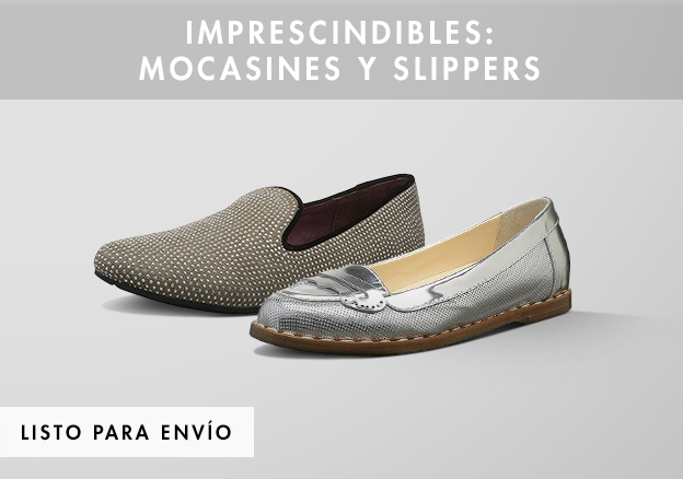 Imprescindibles: mocasines y slippers!