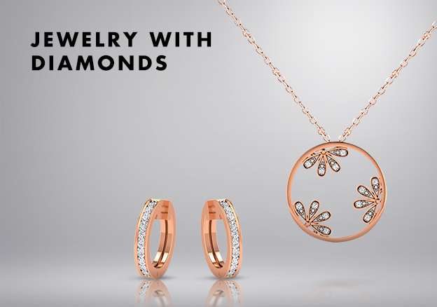Jewelry with diamonds!