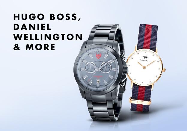 Hugo Boss, Daniel Wellington & more