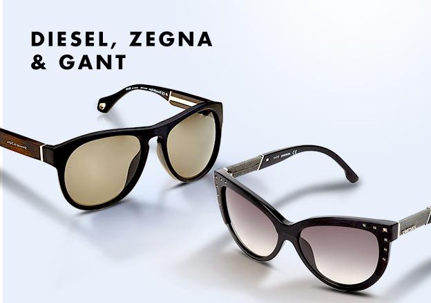 Diesel, Zegna & Gant!