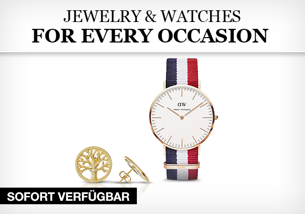 Jewelry & Watches for every occasion