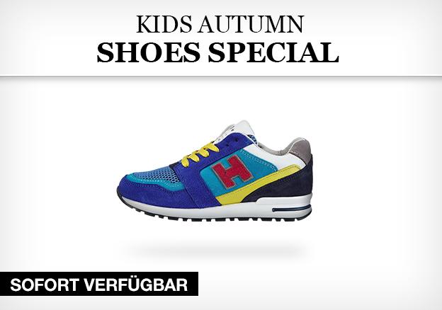 Kids autumn shoes special