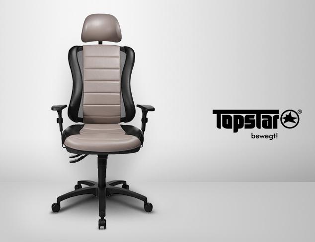 masm rebajas topstar sillas de oficina hasta el viernes 21. Black Bedroom Furniture Sets. Home Design Ideas