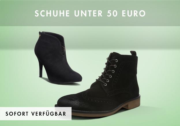 Schuhe unter 50 Euro