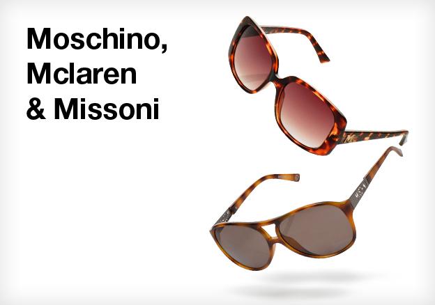 Moschino, Mclaren & Missoni