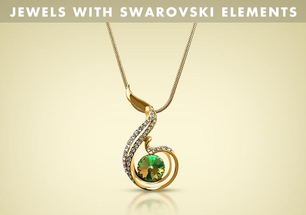 Jewels with Swarovski Elements