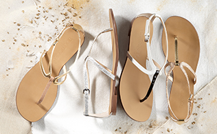 Up to 75% Off: Flat Sandals