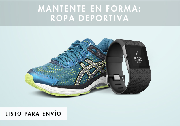 Mantente en forma: ropa deportiva