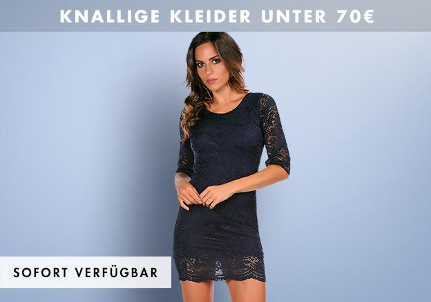 Knallige Kleider unter 70€!