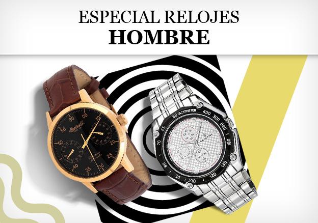 Especial Relojes: hombre