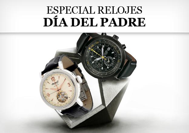 Especial relojes día del padre