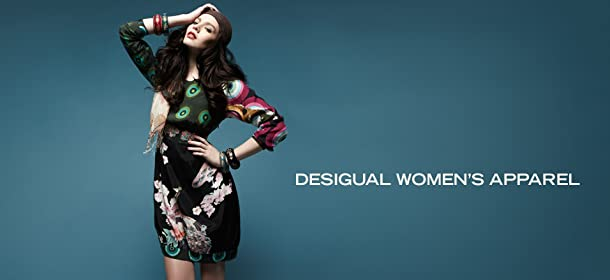DESIGUAL WOMEN'S APPAREL, Event Ends December 19, 9:00 AM PT >