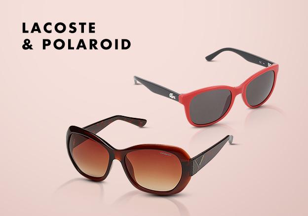Lacoste & Polaroid!