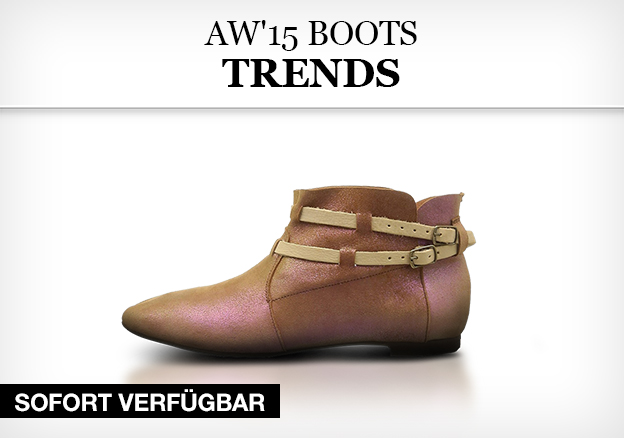 AW2015 Boots Trends