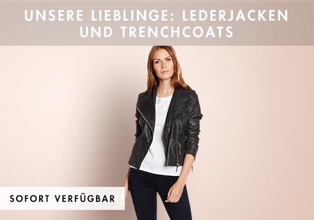Unsere Lieblinge: Lederjacken und Trench...