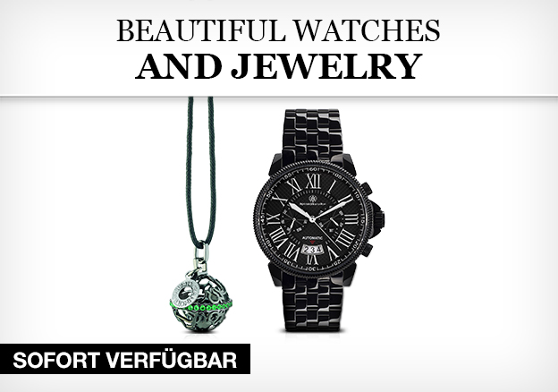 Beautiful Watches and Jewelry