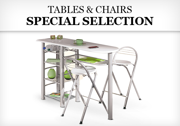 Tables & Chairs: Special Selection