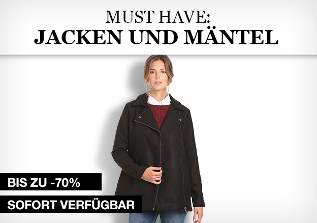 Must Have: Jacken & Mäntel