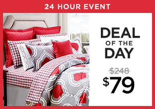 Deal of the Day: 14-Piece Comforter Set at $79!