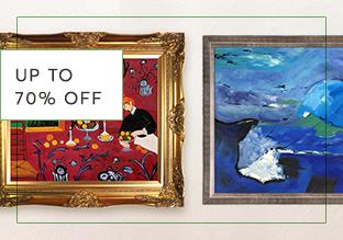 Fino al 70 % di sconto : Art & Décor!
