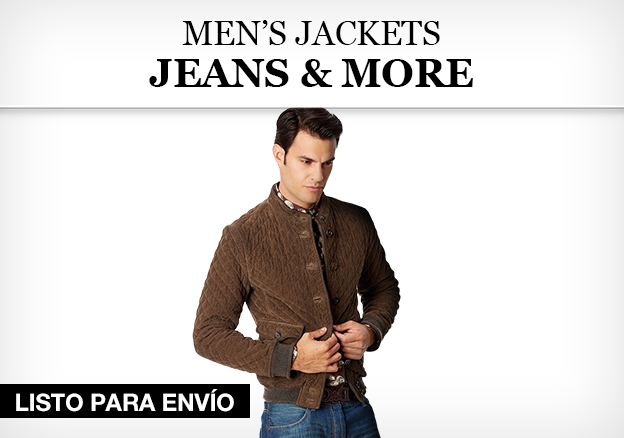 Mens' Jackets, Jeans & More