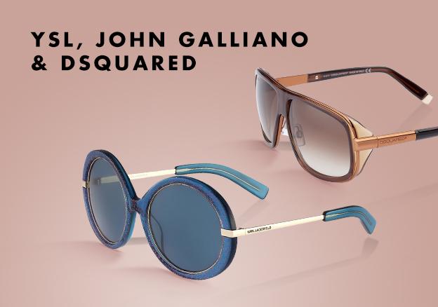 YSL, John Galliano & Dsquared!
