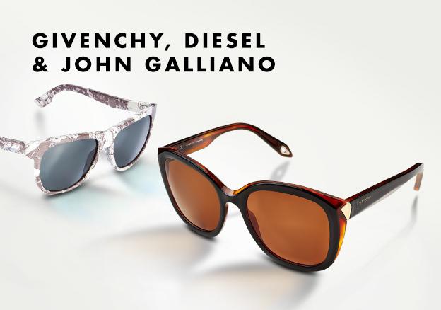 Givenchy,Diesel & John Galliano
