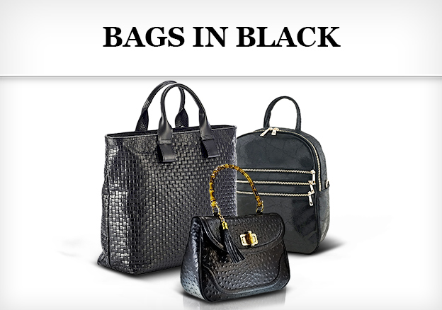 Bags in black: ready for the new season