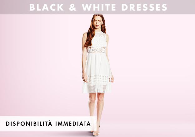 Black & white dresses!