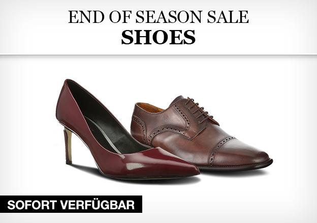 End of season sale - shoes