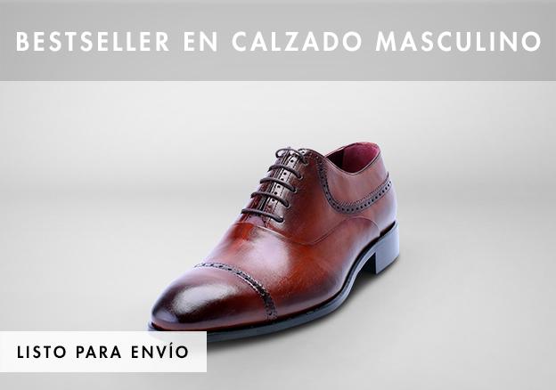 Bestseller en calzado masculino