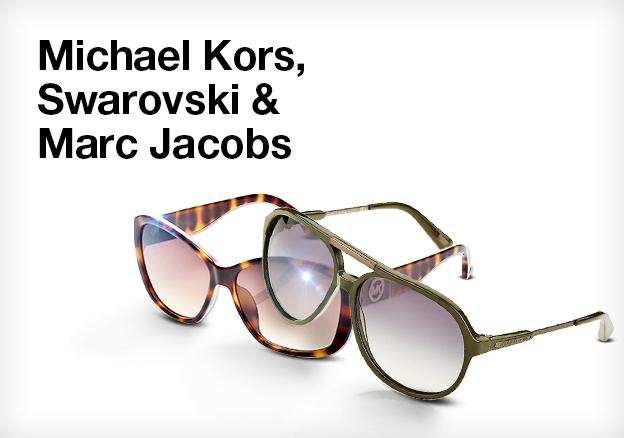Michael Kors, Swarovski & Marc Jacobs