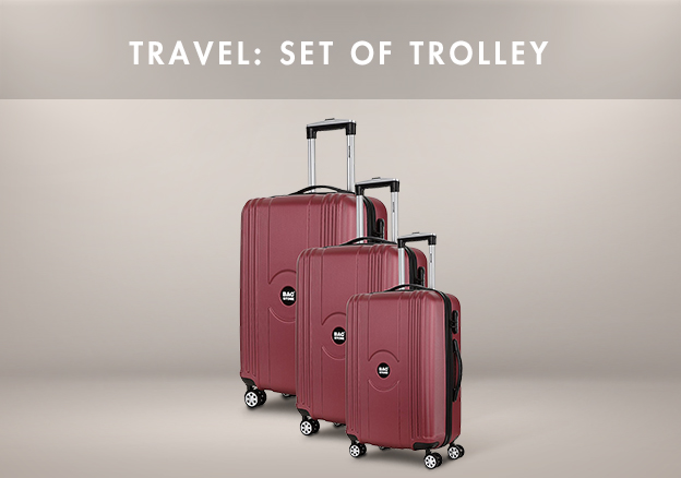 Travel: Set of Trolley!