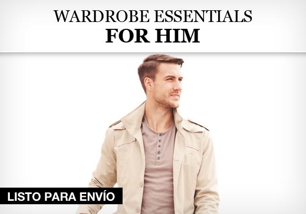 Wardrobe Essentials for Him