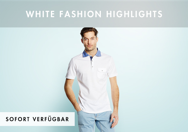 White Fashion Highlights bis zu -80%