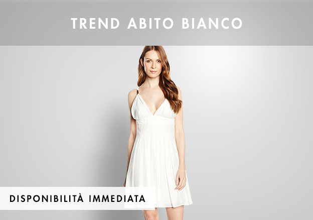 Trend abito bianco