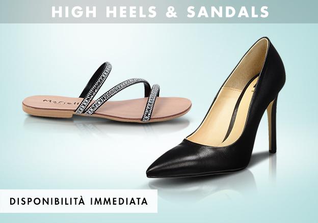 High heels & sandals