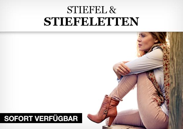 Stiefel und Stiefeletten