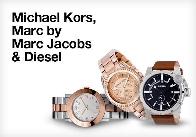 Michael Kors, Marc by Marc Jacobs & Diesel
