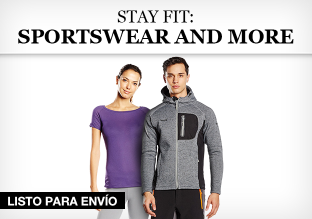 Stay fit: Sportswear and more