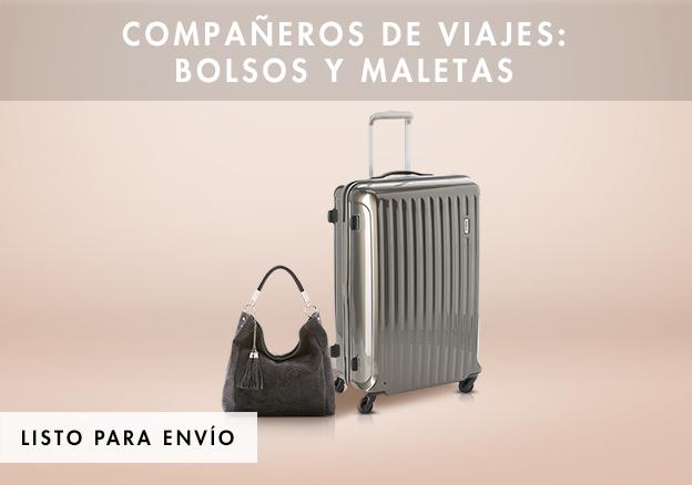 Compañeros de viajes: bolsos y maletas