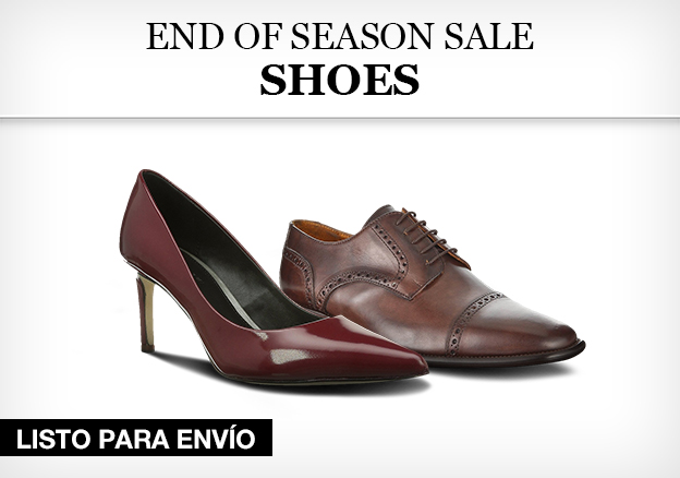 End of season sale – shoes