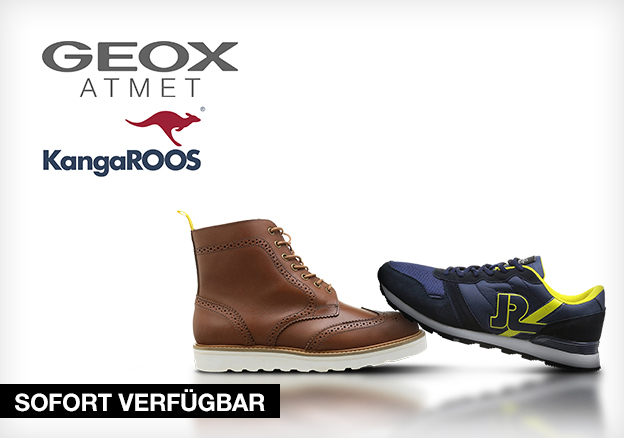Geox, Kangaroos and more