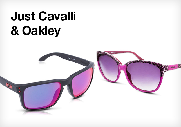 Just Cavalli & Oakley