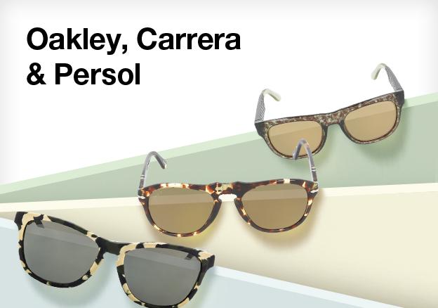 Oakley, Carrera & Persol