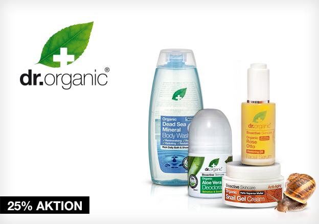 Dr.Organic: zusätzlich 25% ab 4 Produkten