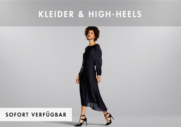 Kleider & High-Heels bis zu -72%!